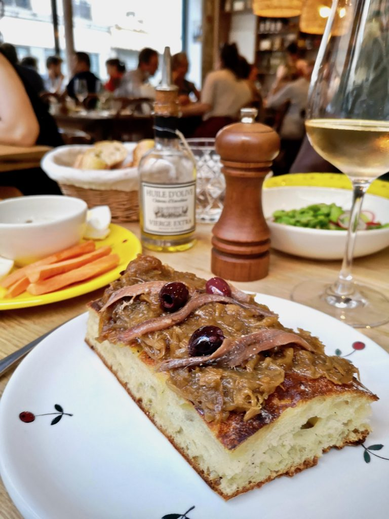 restaurant pissaladière paris