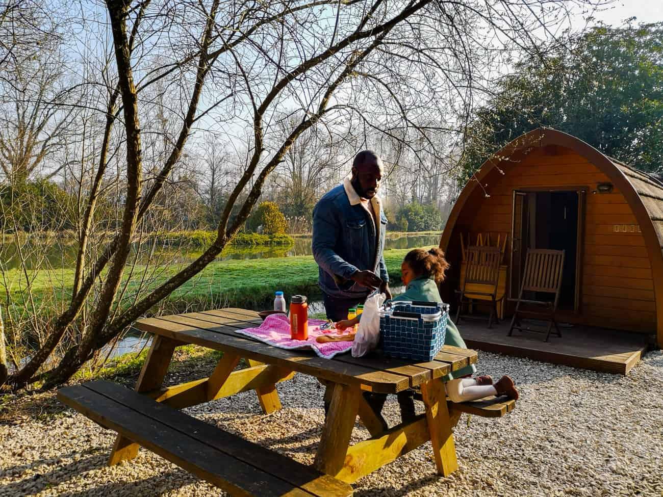 week-end chambre d'hotes cabanes 1h de Paris