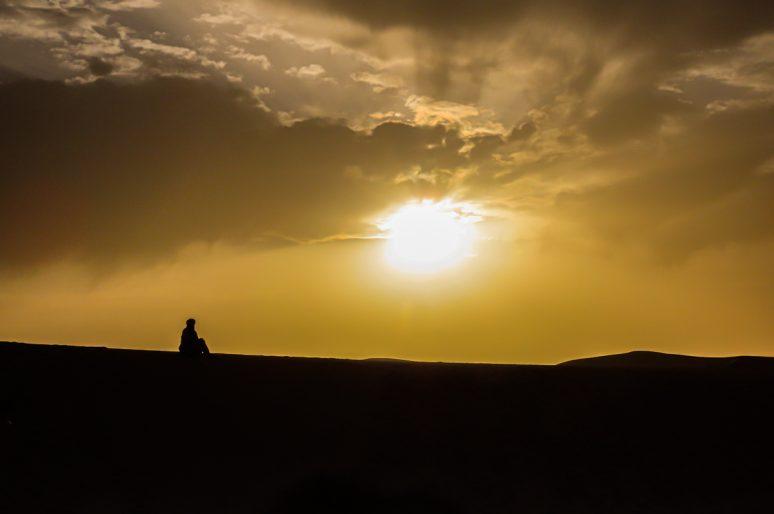 Désert du Sahara, Erg Chebbi, Merzouga, Maroc