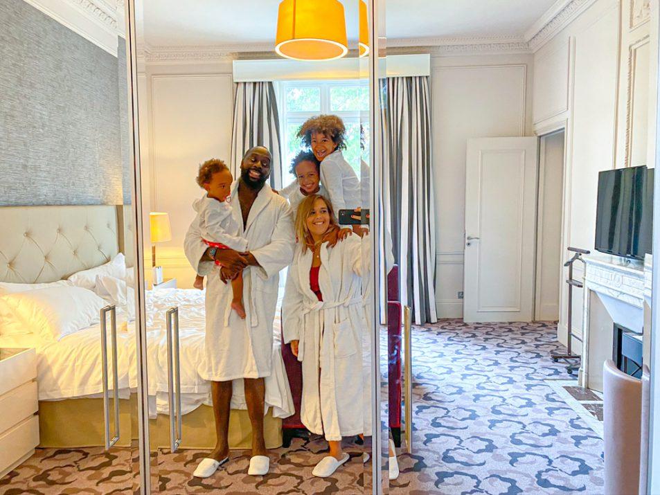 trianon palace en famille à Versailles