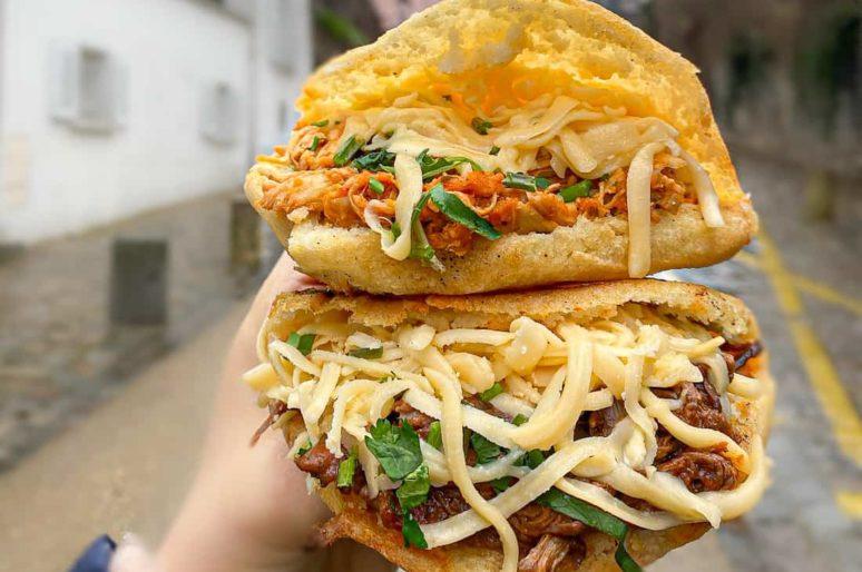 Aji Dulce, street food vénézuélienne / Paris 9