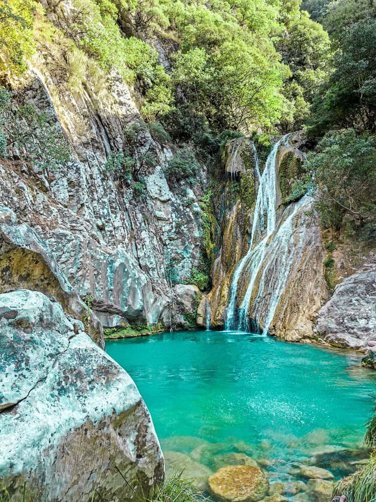 Polylimnio-Waterfalls-peloponnese-road-trip-grece-1