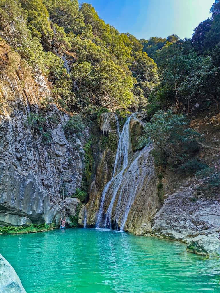 Polylimnio-Waterfalls-peloponnese-road-trip-grece-3
