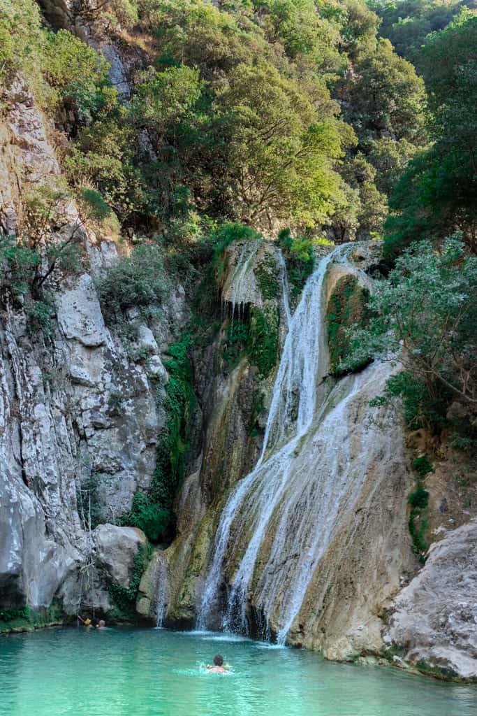 Polylimnio-Waterfalls-peloponnese-road-trip-grece-4