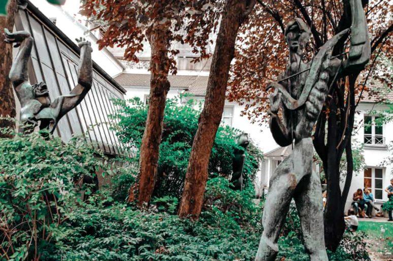 Le Musée Zadkine et son jardin, Paris 6